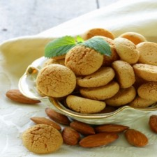 Booster Crunchy almond biscuits sachet