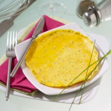 Herb flavour omelette