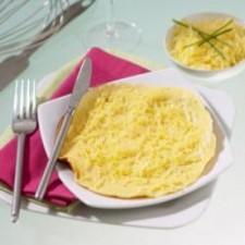 Mushroom flavour omelette